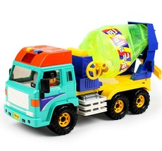 Daesung Toys Melody Concrete Cement Mixer Car Truck Vehicle Construction Toy
