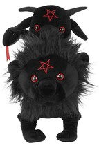 Killstar Chimaera Snake Lion Goat Goth Satan Stuffed Animal Plush Toy KS... - $32.99