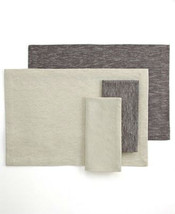 Dansk Table Linens, Shimmer Rib Napkin set of 4 - $18.07