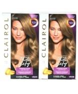 2 Clairol Age Defy Tri Plex Formula 7 Dark Blonde Luminous Permanent Hai... - $25.40