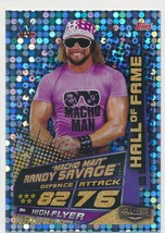 2019 Topps Slam Attax Universe India Edition Championship Foil Macho Man  - $1.75