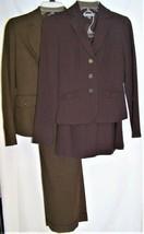 Ann Taylor Petites 2 Sets Career Suits Size 0-P Brown Copper - $96.57