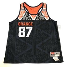 Nike Reversible Syracuse Basketball Cuse 87 SAMPLE Tank Men's Size M Blue Orange - $39.59