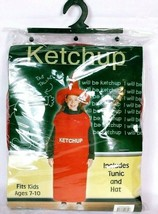 Ketchup Squeeze Bottle Kid's Halloween Costume Party Gag Fits Age 7-10 - $20.98