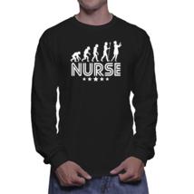 Nurse Evolution Retro Style Graphic Long Sleeve T-Shirt - $24.99