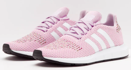 Adidas Swift Run Size US 8 M (B) EU 40 Women's Running Shoes Aero Pink C... - $68.55