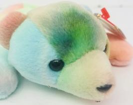 "Ty Sammy Tie-dye Bear Beanie Babies 8"" Date Of Birth June 23 1998 Multi-color - $13.99"