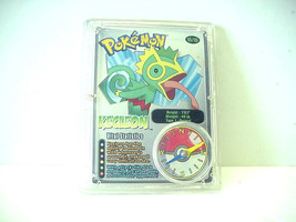 "Pokemon Compass Clip-on Trading Card "" Kecleon "" Wendy's Kids Meal Toy (2002) - $9.89"