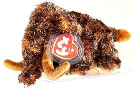 TY BEANIE BABIES 2001 SN 4384 –  GIGANTO THE WOOLY MAMMOTH – RETIRED - MWMT - $11.39