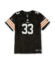 NFL Team Apparel Womens Med Cleveland Browns Richardson Jersey 244  - $50.02