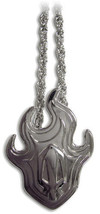 Bleach Anime Skull Logo Metal Necklace, NEW - $12.59