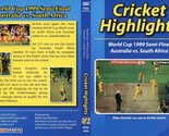 AUSTRALIA VS SOUTH AFRICA WORLD CUP SEMI-FINAL MATCH 1999 97MINS COLOR