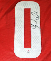 RUSSELL WESTBROOK / AUTOGRAPHED HOUSTON ROCKETS RED PRO STYLE JERSEY / COA image 4