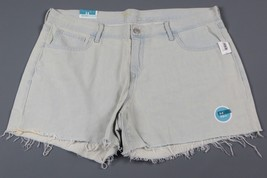 NWT- OLD NAVY Light Blue Cut Off and frayed Jean shorts Size 14 Reg - $12.82