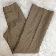 "Ann Taylor Women's Light Brown ""Margo Fit"" Wool Career Work Dress Pants ... - $19.79"