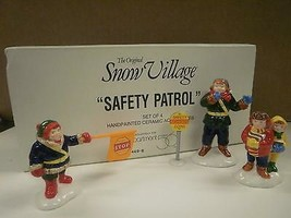 DEPT 56- RETIRED- 54496 SAFETY PATROL- NEW IN BOX -L131 - $23.47