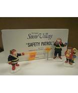 DEPT 56- RETIRED- 54496 SAFETY PATROL- NEW IN BOX -L131 - $23.47