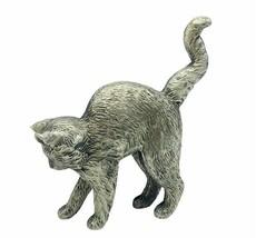 Curio Cat figurine Franklin mint collection kitten sculpture American Pe... - £23.80 GBP