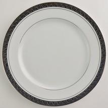 Mikasa Alton 5299 Salad Plate Fine China White Platinum Tableware Dinnerware - $5.99