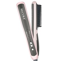 Secura Hair Straightener Comb with PTC Ceramic Heating Elements and 6 Le... - $74.63