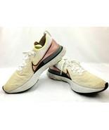 Nike React Infinity Run Flyknit FK Platinum Tint White Pink CD4371-004 S... - $89.99