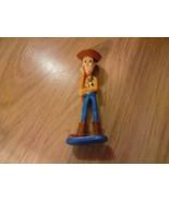 "Disney Toy Story Cowboy Sheriff Woody PVC Toy Figure Cake Topper 3.5"" EUC - $7.50"