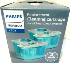 Philips Norelco JC302/52 Replacement Cleaning Cartridge 2-pack SmartCleanSystems - $9.73