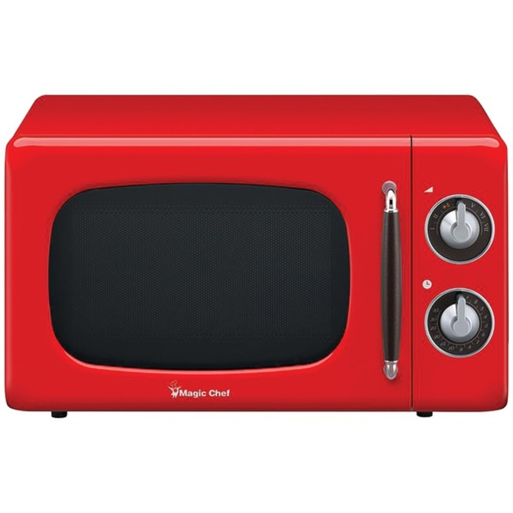 Primary image for Magic Chef MCD770CR .7 Cubic-ft 700-Watt Retro Microwave (Red)