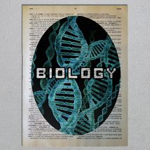 Choose a Science Biology Chemistry Physics Astronomy Dictionary Art Print image 3