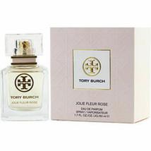 Tory Burch Jolie Fleur Rose Eau De Parfum Spray 1.7 Oz For Women - $87.14
