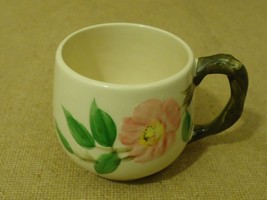 Franciscan Vintage Small Mug 3in D x 2 7/8in H Desert Rose USA Earthenware - $18.68