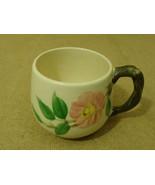 Franciscan Vintage Small Mug 3in D x 2 7/8in H Desert Rose USA Earthenware - $18.68