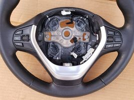 12-18 BMW F30 Sport Steering Wheel w/ Cruise BT Volume Switches W/O Paddles image 5