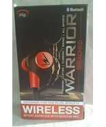 iHip Warrior Freedom Bluetooth sport Earbuds with mic - $12.19