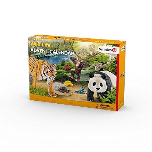 Schleich 97433 Wild Life Advent Calendar 2017