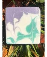 Handmade Artisan Soap Coconut Hemp Avocado Combination skin BLUE HAZE Lilac - $5.00+