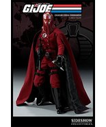 "2009 SDCC Comic Con Sideshow G.I.Joe Crimson Cobra Commander 12"" Figure - $414.81"