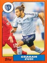 Graham Zusi 2017 Topps MLS Card - Throwback Topps Insert - Sporting Kansas City  - $9.99