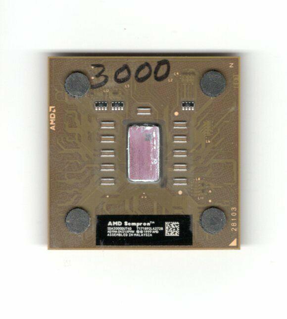 AMD Sempron CPU 3000+ Processor SDA3000DUT4D - $12.00