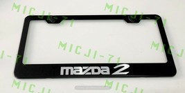 Mazda 2 Stainless Steel License Plate Frame Rust Free W/ Bolt Caps - $11.99