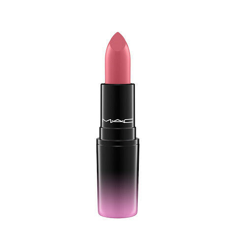 Primary image for MAC Cosmetics Love Me Lipstick E for EFFORTLESS  Burnt Deep Red NIB
