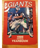 New York Giants 1986 NFL Official Team Championship Yearbook-MINT! - $9.89