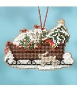 Woodland Sleigh 2017 Charmed Sleigh Ride Ornaments cross stitch kit  Mil... - $7.20