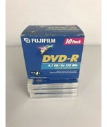 New Fujifilm DVD-R Video Recordable Disks 16-Pack 4.7 GB 120 Minutes wit... - $18.37