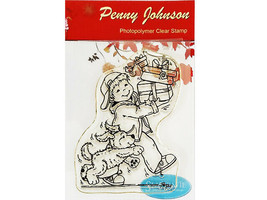 Stampavie Penny Johnson A Special Delivery Stamp #PEN032-A