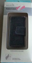 Belkin Folio Case for Ipod Nano, BRAND NEW IN PACKAGE -Black Leather - S... - $6.92