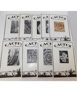 CACTUS & SUCCULENT JOURNAL 1960 & 1961 9 Issues - $17.37