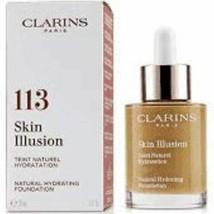 Clarins Skin Illusion Spf 15 Natural Hydrating Foundation 113 Chestnut 30mL / 1 - $39.99