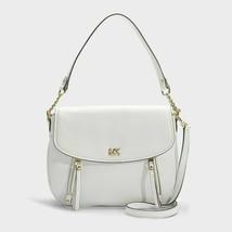 Michael Kors Evie Medium Shoulder Handbag - White #130 - $119.99