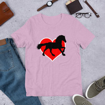 horse slogan shirt gift  for horse lover   Short-Sleeve Unisex T-Shirt H... - $32.00